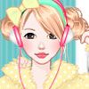 Cute pajama dress up game